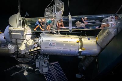 ISS Replica Space Walk