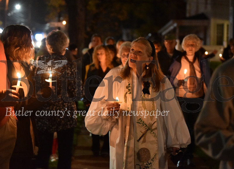 87482 Butler Interfaith Gathering & Vigil at B'nai Abraham Congregation For the  11 victims of the Tree of Life Synagogue shooting Last Saturday