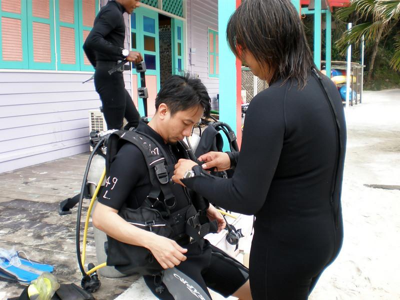 [20080515] Will & Bee Scuba Diving @ Redang (7).JPG