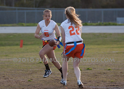 Girls Varsity Flag Football