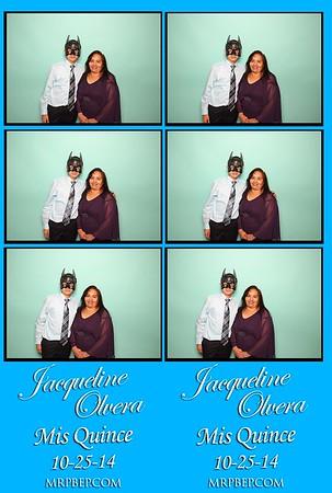 Jacqueline's XV   Oct. 25th 2014