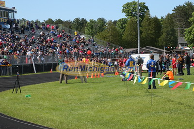 UP Boys' 4x400 Relay - 2015 MHSAA TF Finals