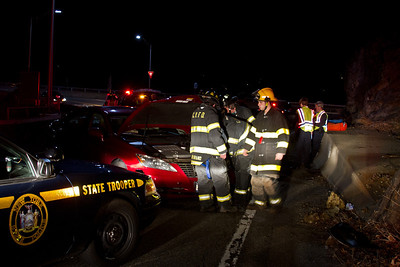 3-11-12 MVA With Injuries, Bear Mountain Bridge Road