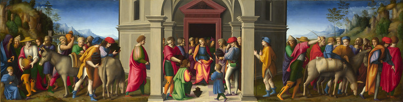 Joseph receives his Brothers