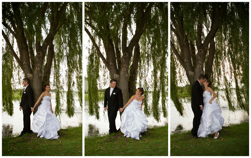 Ashley Santefort & Kevin McCollom Wedding Day - The First Look White Hawk Country Club - Crown Point, Indiana