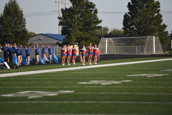 Dance Team - Gretna Football game