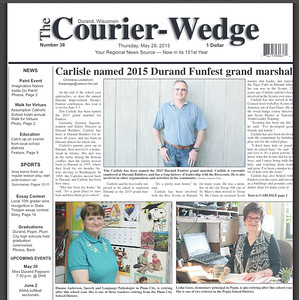The Durand Courier Wedge