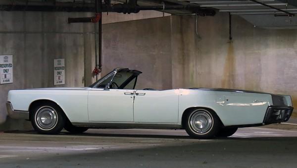 May 15, 2016:  1967 Lincoln Continental convertible .  .  .