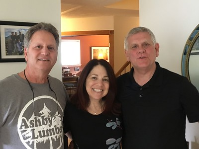 Ricky comes to visit with his friend Andy, June 10, 2019