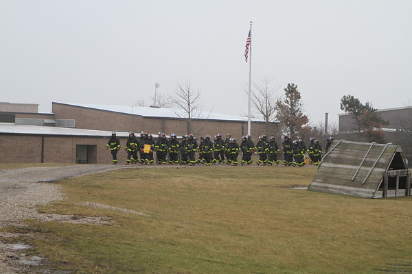 Chicago Fire Department Fire Academy Live Fire At Nipsta Day 3 Jan 19