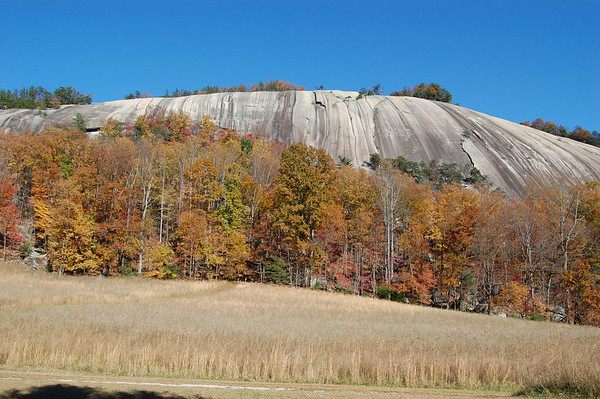 Journal Site 165: Cedar Rock/Wolf Rock Trail, Stone Mountain State Park, Roaring Gap, NC - Nov. 10, 2010