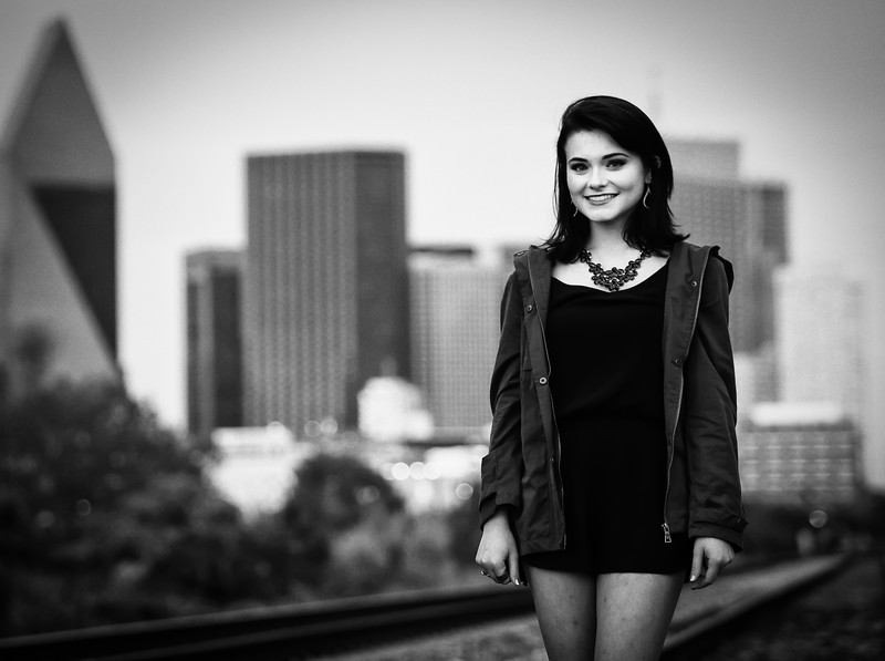 Arya brightens the Dallas skyline!