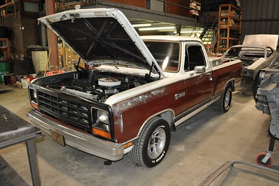 84 Dodge Truck Re-Wire