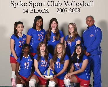 Spike Sport 14 Black