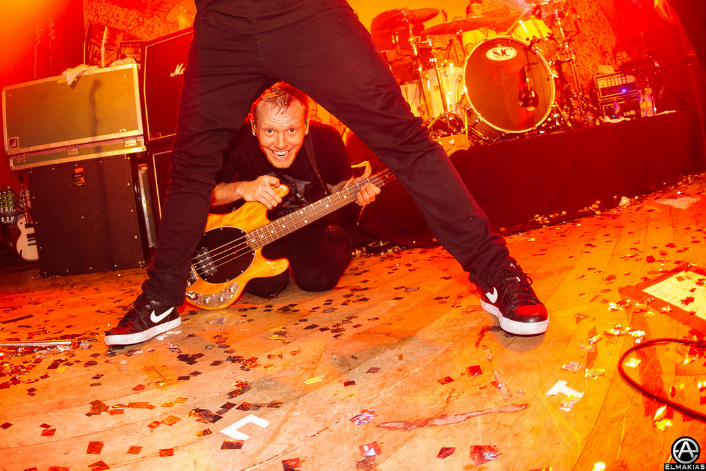 Josh and Kevin of A Day To Remember by Adam Elmakias