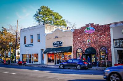 Fayetteville Downtown Sony Nex 6 30mm f/2.8