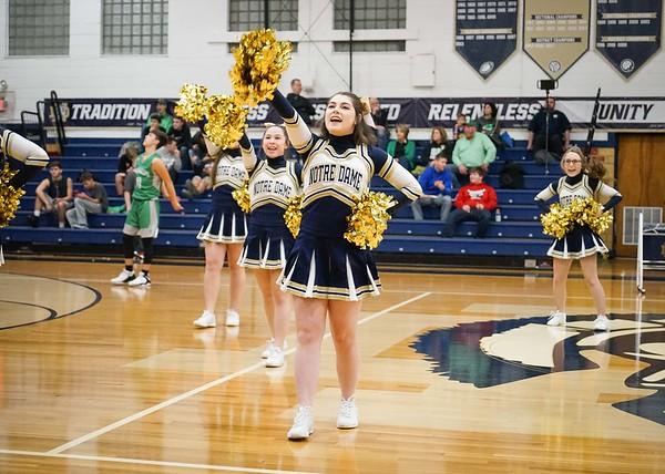 ND Varsity Cheerleaders