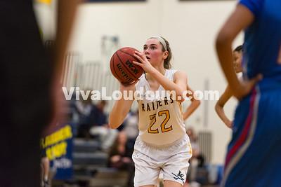 Girls Basketball: Loudoun County vs. Riverside 1.12.17 (by Chas Sumser)