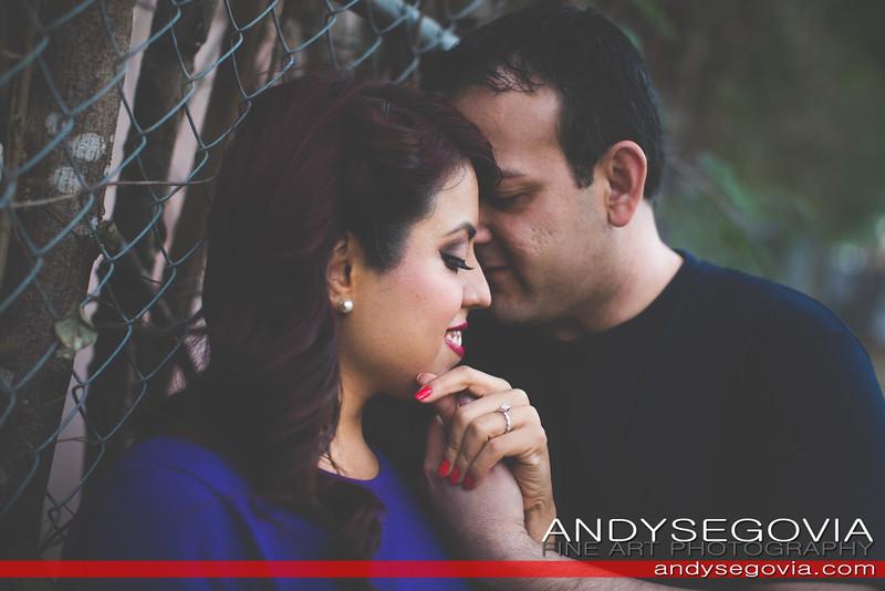Becky + Alonzo Engagement
