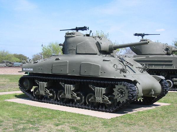 M4A1 Sherman - 3ID Museum - Ft. Hood, TX