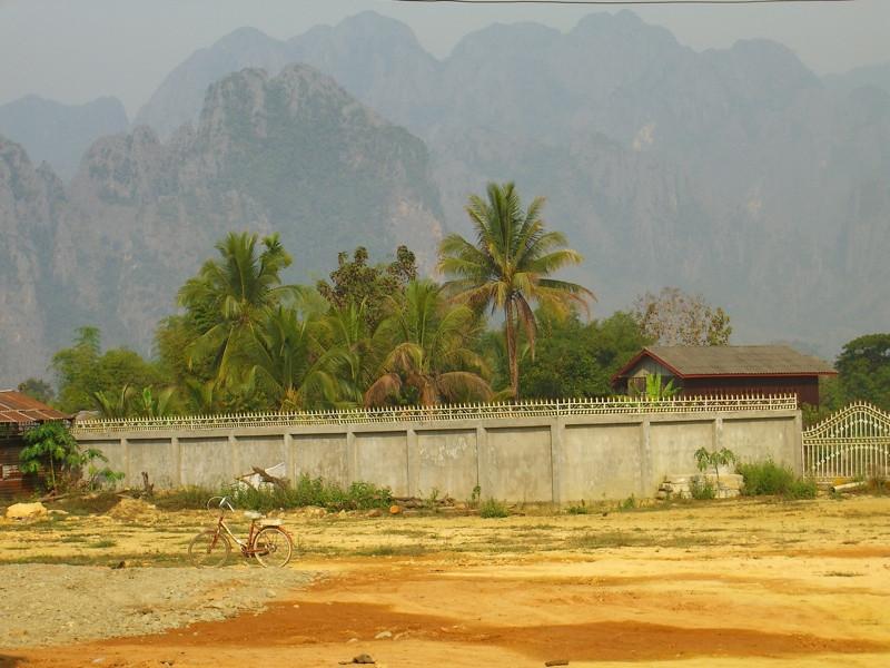 Karst Limestone - Vang Vieng, Laos