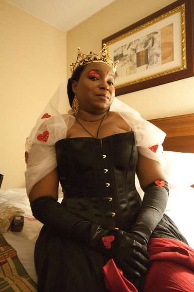 QB revisits the role of the Queen of Hearts.