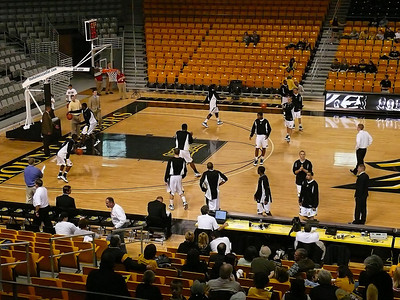 Basketball:  ASU vs. Milligan Dec. 2008