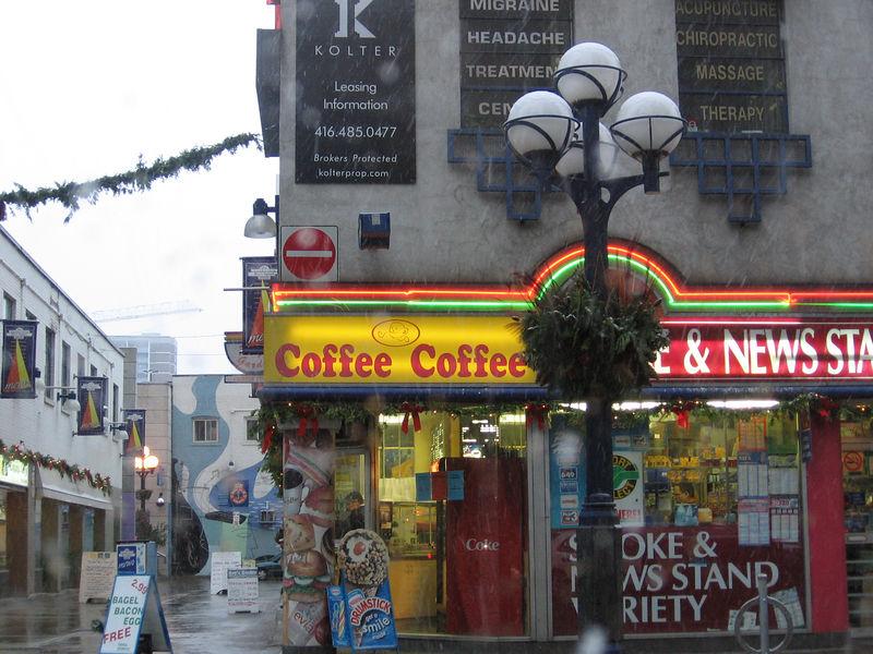 Coffee Coffee Snow