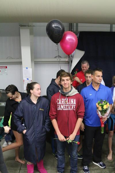 SC State Meet 2016 Senior Recognition