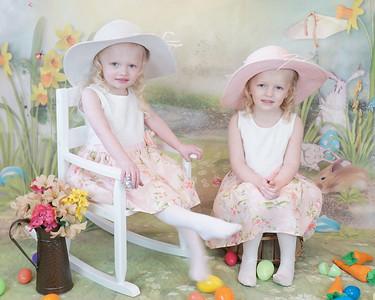 Mya &  Mollie Easter