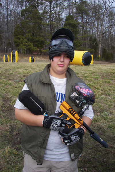 Paintball Comes to FUMA