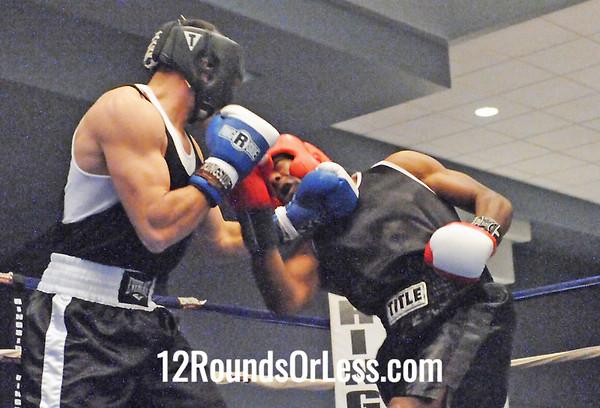Bout 2 Josh Fisher, Columbus -vs- Laquan Brooks, Youngstown
