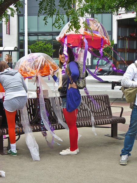 Jellyfish -- awesome costumes!