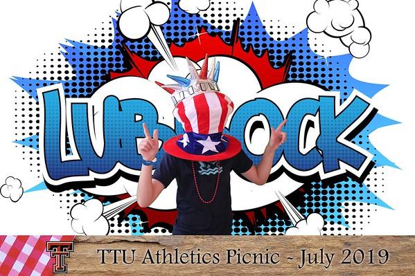 TTU  Athletics Picnic 2019