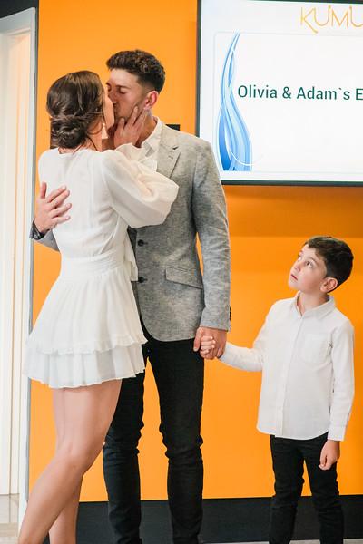 Adam and Olivia