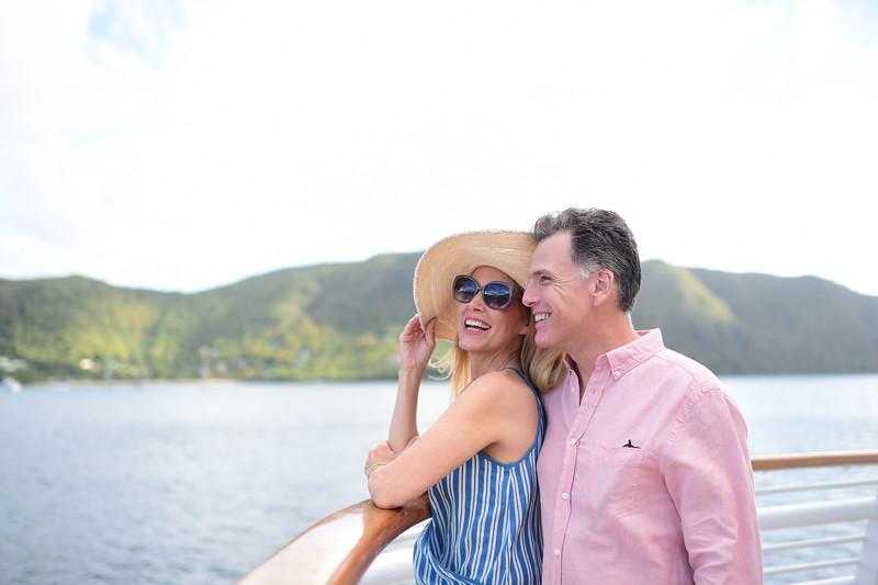 Couple Yachting