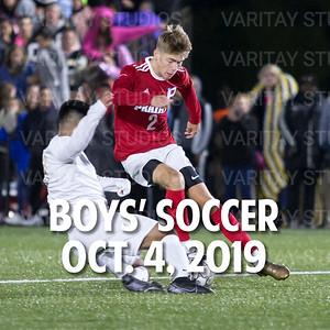 Prairie Boys Soccer 10-4-2019