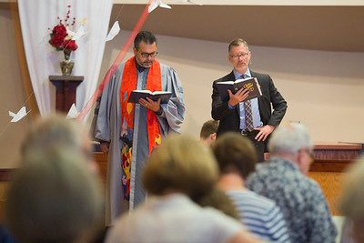 6-11-17 UCC President Preaches, Chris Graduation party