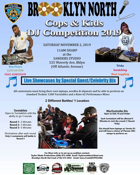 Cops & Kids DJ Battle 2019