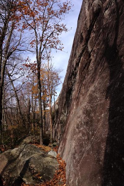 Great Wall of Panthertown - 3,750'