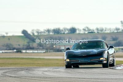 Black C5 Z06 Corvette
