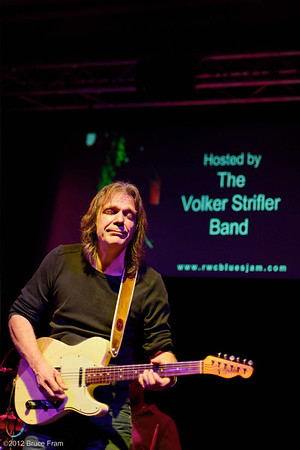 Volker Strifler at Club Fox Blues Jam