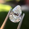 2.61ct Antique Pear Cut Diamond GIA I SI1 11