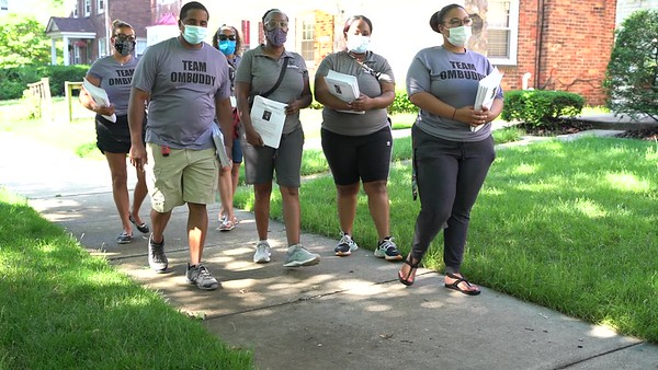 2020 Detroit Ombudsman office Community Walk 7/2/20