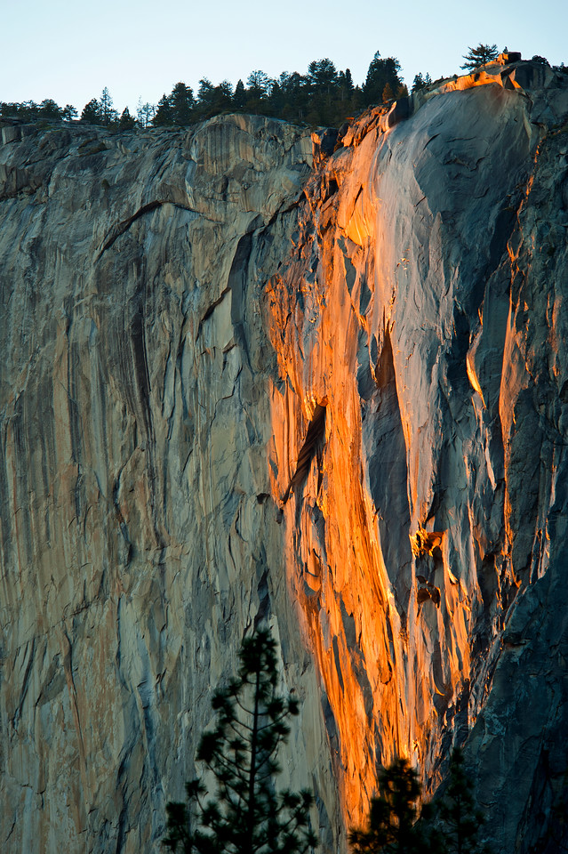 Horsetail Sunset, Yosemite Firefall