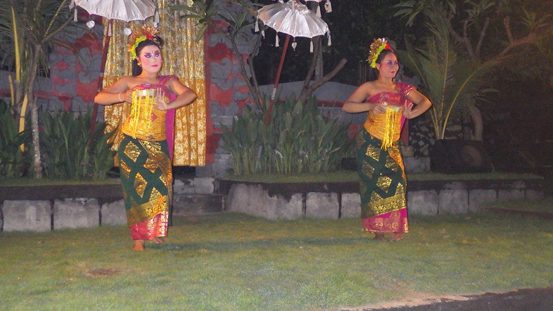 Indonesian dance performance during our celebration dinner.