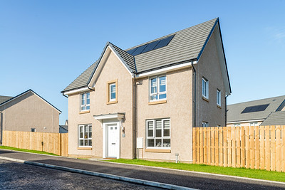 Barratt Homes - Merlin Gardens External photography