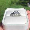 1.11ct Old European Cut Diamond Filigree Ring 36