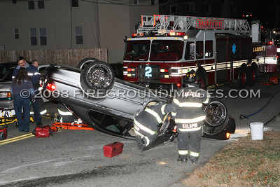 Longfellow Ave. Rollover (Fairfield, CT) 12/2/07