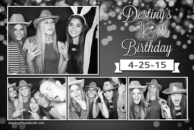 Destiny's 18th Birthday